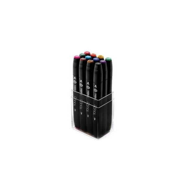 Touch Twin Marker - 12 Main colors