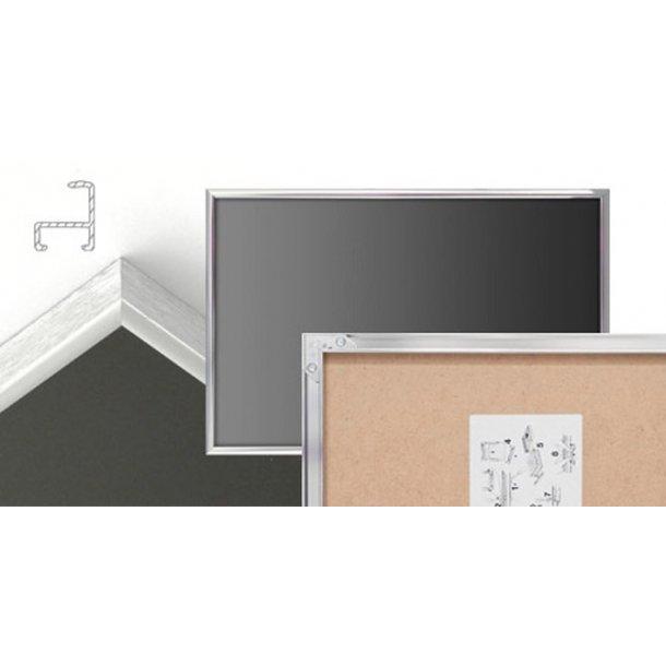 Blank aluminium ramme