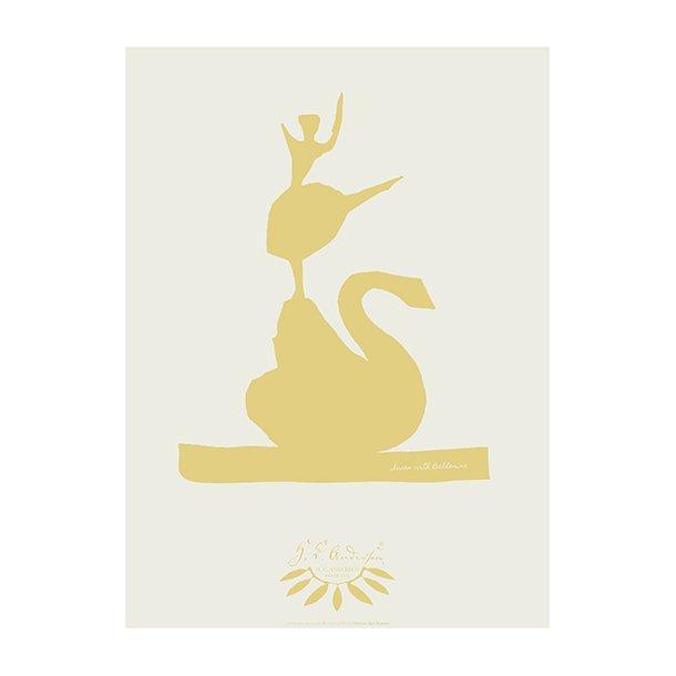 Swan with ballerina