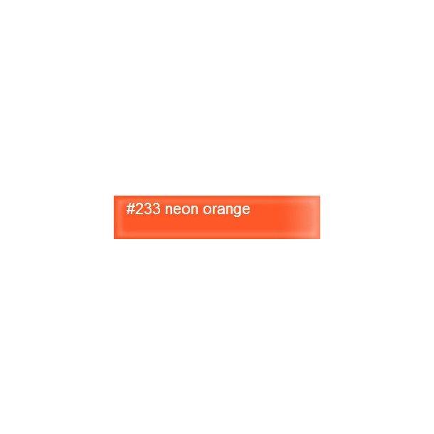 Neon orange 233