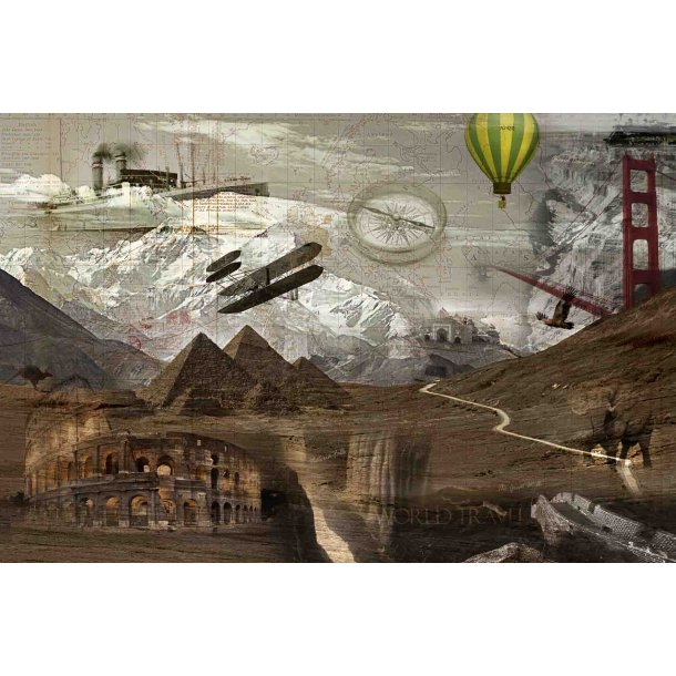 Collage art collection
