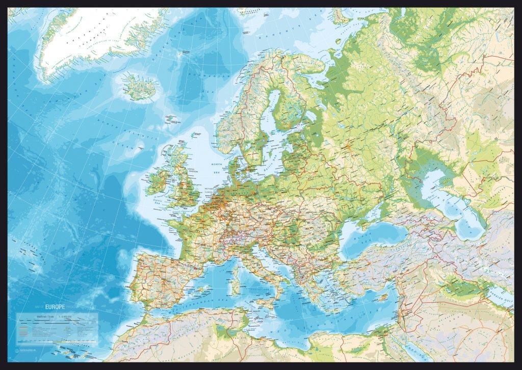 opslagstavle verdenskort