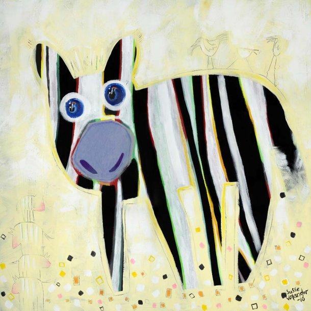 Er jeg zebra eller er jeg stibet hund
