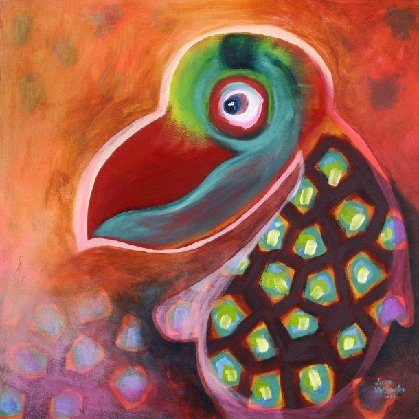 Den kloge papegøje
