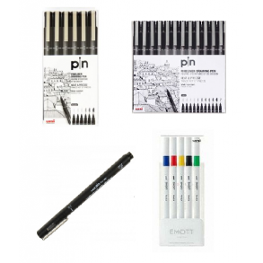 UNI PIN FINE LINER/EMOTT EVER FINE